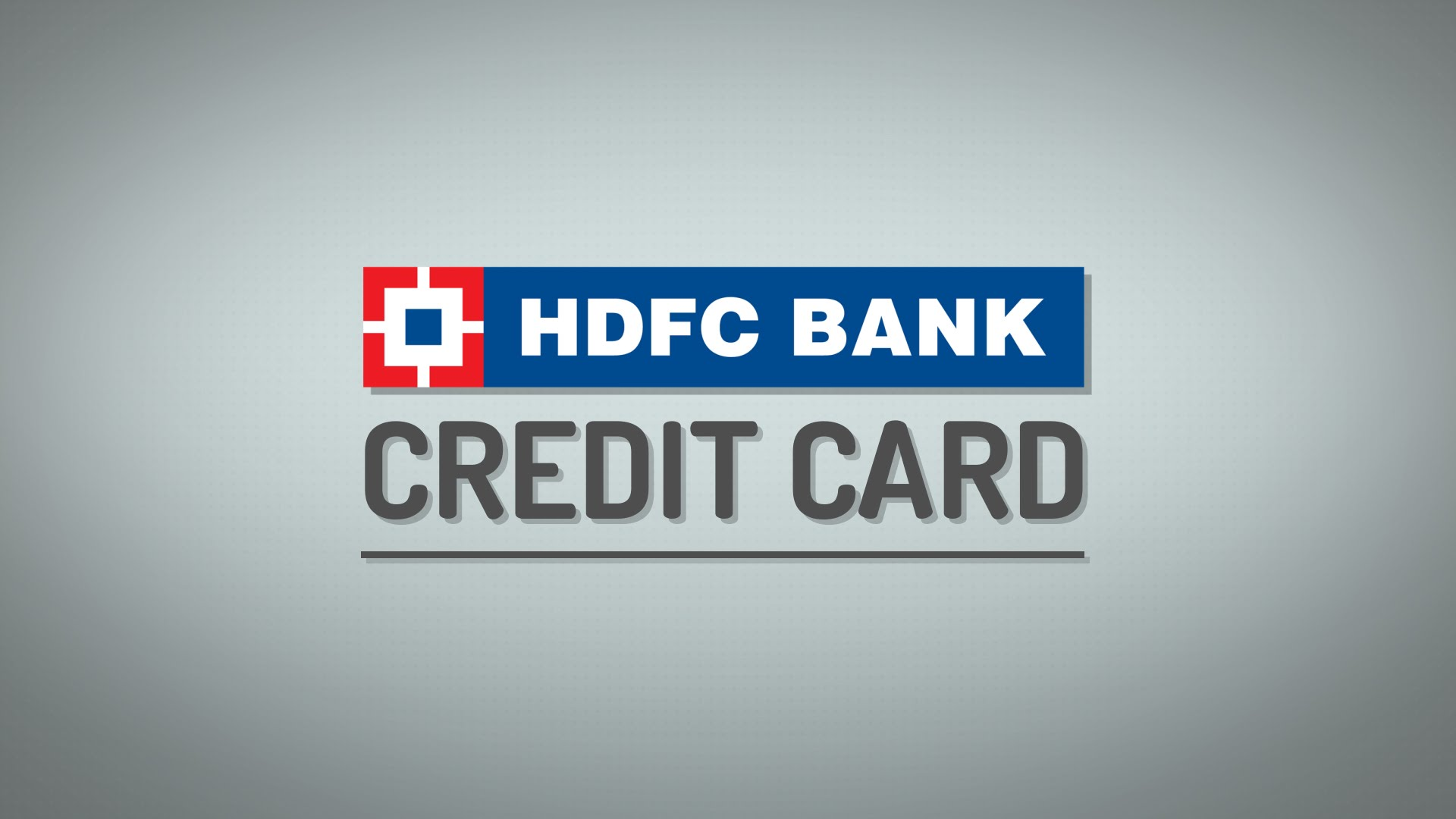 hdfc bank tracking credit card application